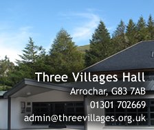 Three Villages Hall - Arrochar, G83 7AB